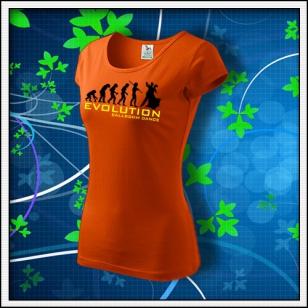 Evolution Ballroom Dance - dámske oranžové
