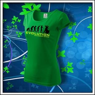Evolution Ballroom Dance - dámske trávovozelené