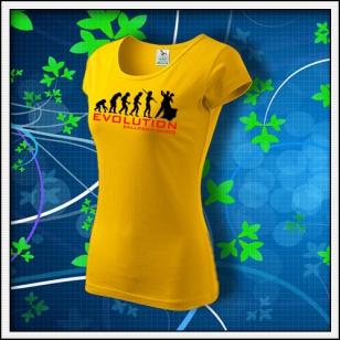 Evolution Ballroom Dance - dámske žlté