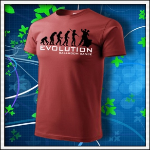 Evolution Ballroom Dance - bordové