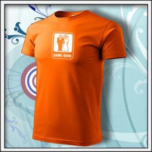 Game Over - oranžové