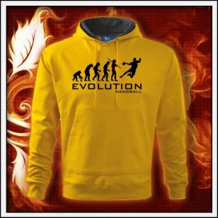 Evolution Handball - žltá mikina