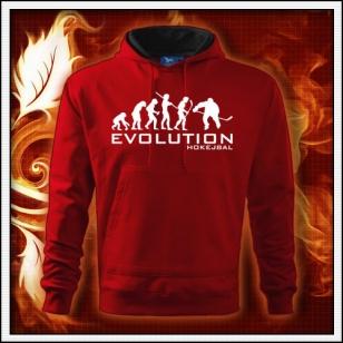 Evolution Hokejbal - červená mikina