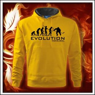Evolution Hokejbal - žltá mikina
