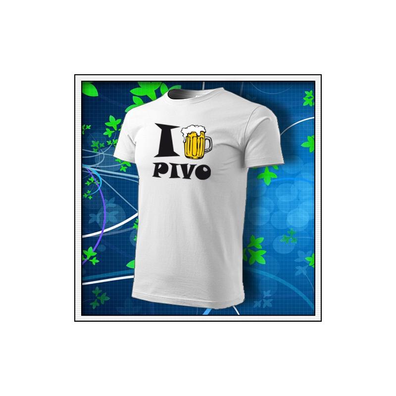 I Love Pivo - biele