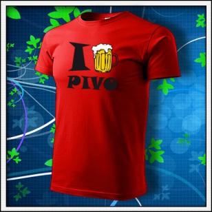 I Love Pivo - červené