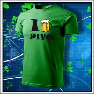 I Love Pivo - trávovozelené