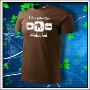 Life´s priorities - Hokejbal - čokoládové