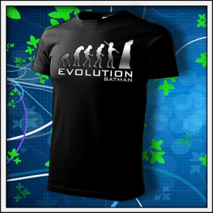 Evolution Batman - unisex reflexná potlač