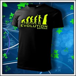 Evolution Batman - unisex so žltou neónovou potlačou