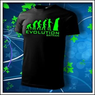 Evolution Batman - unisex so zelenou neónovou potlačou