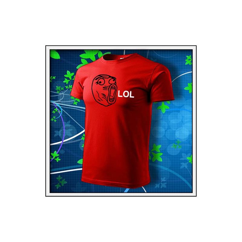 Meme Lol - červené