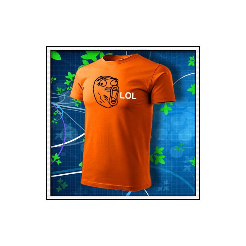 Meme Lol - oranžové