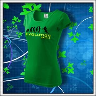 Evolution Skiing - dámske trávovozelené