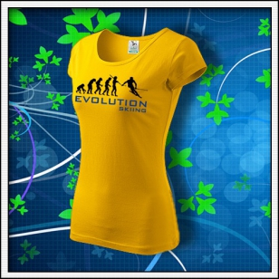 Evolution Skiing - dámske žlté