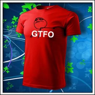 Meme GTFO - červené
