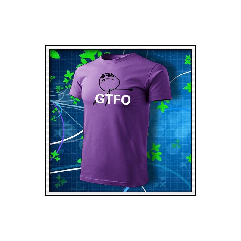 Meme GTFO - fialové