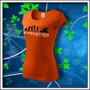 Evolution Hockey Goalie - dámske oranžové