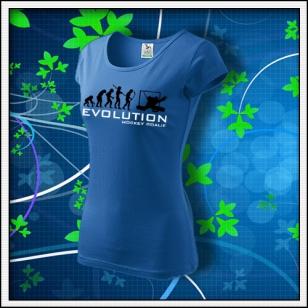 Evolution Hockey Goalie - dámske svetlomodré