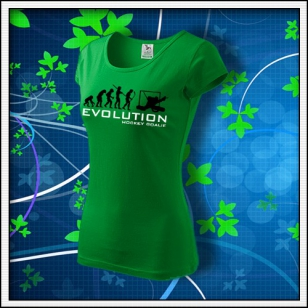 Evolution Hockey Goalie - dámske trávovozelené