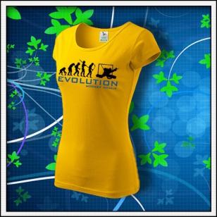 Evolution Hockey Goalie - dámske žlté