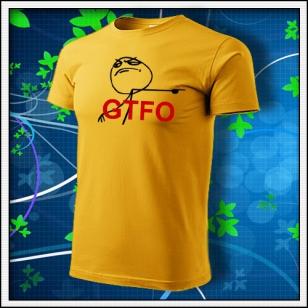 Meme GTFO - žlté