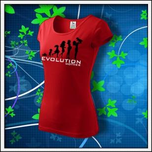 Evolution Mother - dámske červené