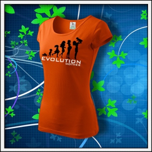 Evolution Mother - dámske oranžové