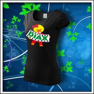 DIAX dievča - dámske čierne