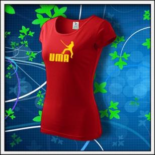 Uma - dámske červené