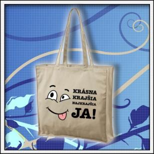 Krásna krajšia najkrajšia JA - taška