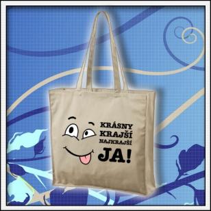 Krásny krajší najkrajší JA - taška