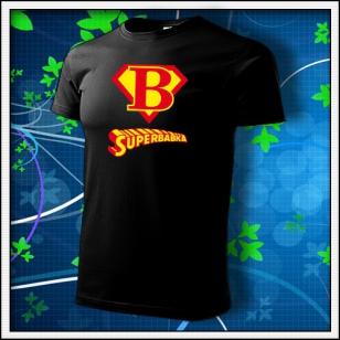 Superbabka - čierne