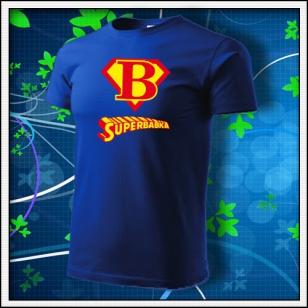 Superbabka - kráľovské modré