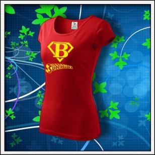 Superbabka - dámske červené