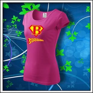 Superbabka - dámske purpurové