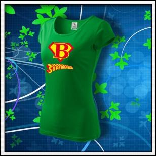 Superbabka - dámske trávovozelené