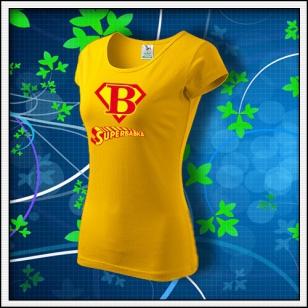 Superbabka - dámske žlté