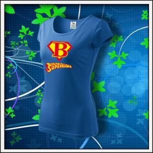 Superbabka - dámske svetlomodré