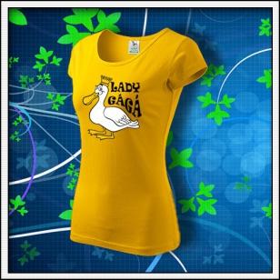Lady GáGá - dámske žlté