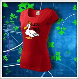Lady GáGá - dámske červené