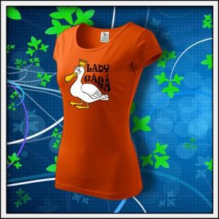 Lady GáGá - dámske oranžové