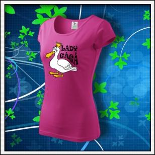 Lady GáGá - dámske purpurové