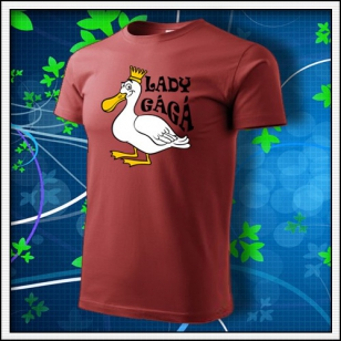 Lady GáGá - bordové