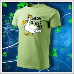 Lady GáGá - hráškovozelené
