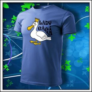 Lady GáGá - svetlomodré