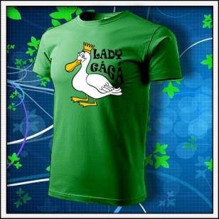 Lady GáGá - trávovozelené