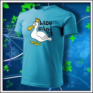 Lady GáGá - tyrkysové