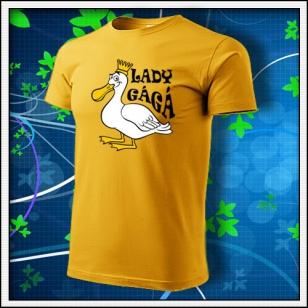 Lady GáGá - žlté