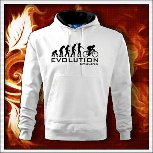Evolution Cycling - biela mikina